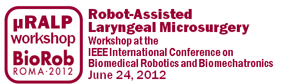 Workshop on Robot-Assisted Laryngeal Microsurgery